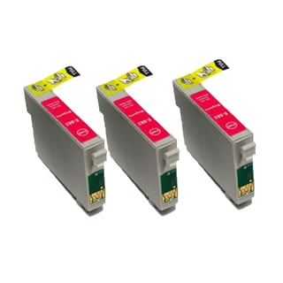 Remanufactured Compatible Epson T088320 / T0883/ Stylus CX4400/ Stylus CX4450/ Stylus CX7400 Magenta Ink Cartridge (Pack of 3)