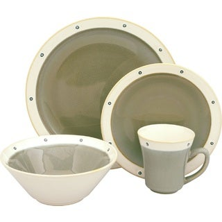 Sango Newport Avocado 16-piece Dinnerware Set