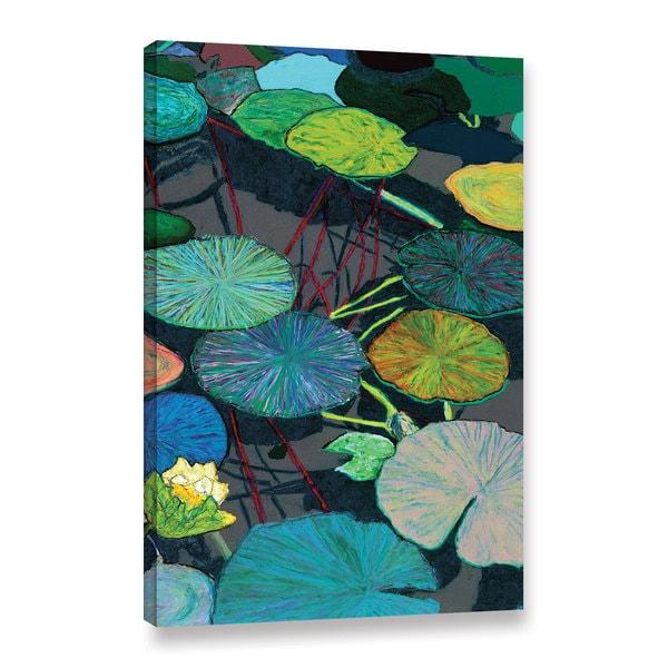 ArtWall Allan Friedlander 'Dark Shadows' Gallery-wrapped Canvas