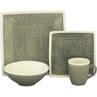 Sango Vega Grey 16-piece Dinnerware Set