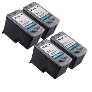PG-40 Compatible Inkjet Cartridge For JX200 MP140 MP150 MP160 MP170 MP180 MP190 MP210 MP450 MP460 MP470 MX300 (Pack of 4)