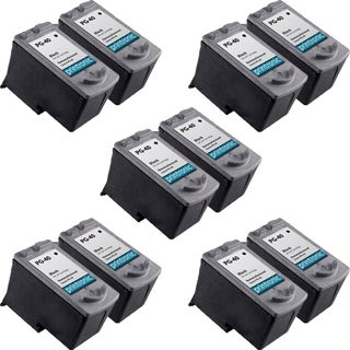 PG-40 Compatible Inkjet Cartridge For JX200 MP140 MP150 MP160 MP170 MP180 MP190 MP210 MP450 MP460 MP470 MX300 (Pack of 10)
