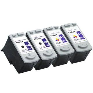 PG-40 CL-41 Compatible Inkjet Cartridge For JX200 MP140 MP150 MP160 MP170 MP180 MP190 MP210 MP450 MP460 MP470 (Pack of 4)