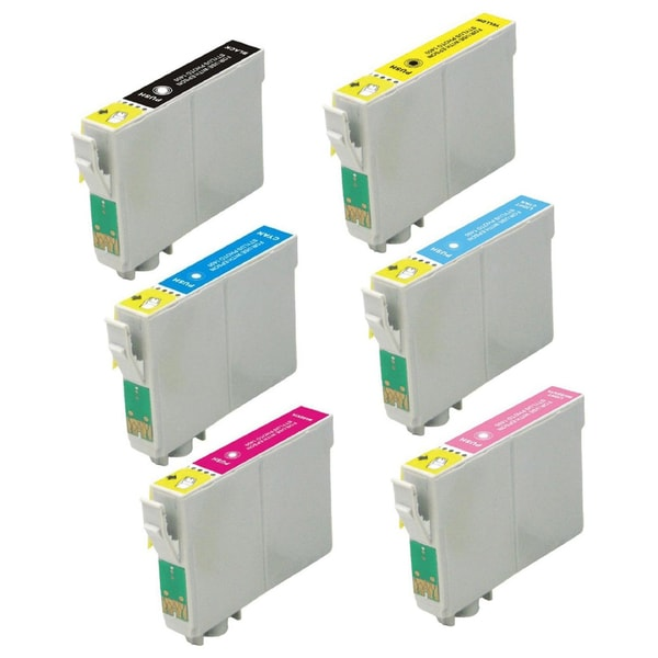 Epson T0791 T0792 T0793 T0794 T0795 T0796 Replacement Ink Cartridge PhotoStylus Photo 1400 1430 (Pack of 6)