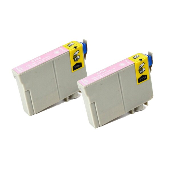 Epson T079620 (T0796) Lighty Magenta Replacement Ink Cartridge PhotoStylus Photo 1400 1430 (Pack of 2)