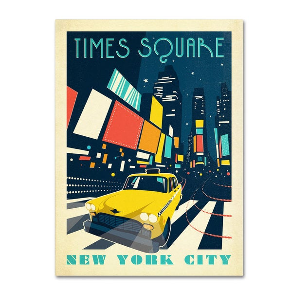 Anderson Design Group 'Times Square' Canvas Art