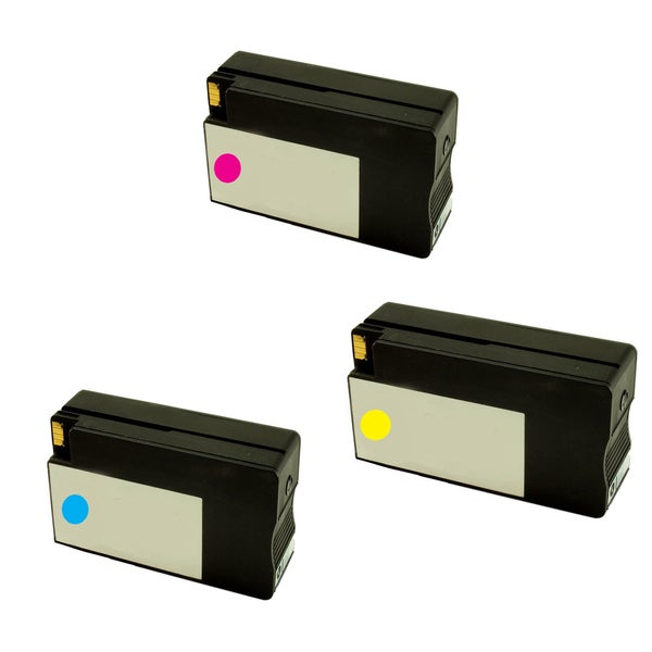HP 951XL Cyan Yellow Magenta Compatible Inkjet Cartridge For HP OfficeJet Pro 8100 HP OfficeJet Pro 8600 (Pack of 3)
