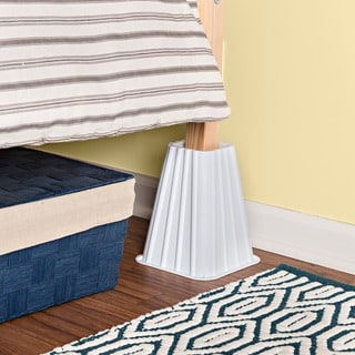 Ivory Bed Risers (Set of 4)