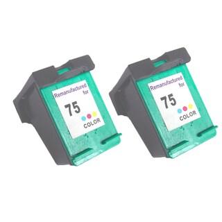 HP75 - Color Compatible Inkjet Cartridge For Deskjet D4200 Officejet J5700 Photosmart C4200 (Pack of 2)
