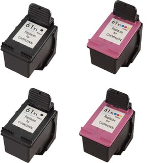 CH564WN (HP 61XL) CH563WN (HP 61XL) Compatible Inkjet Cartridge For DeskJet 1000 - J110a DeskJet 1000 - J110c (Pack of 4)