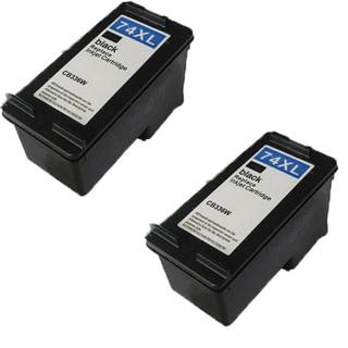 HP74XL - Black Compatible Inkjet Cartridge For Deskjet D4200 Officejet J5700 Photosmart C4200 Series (Pack of 2)