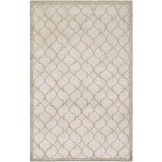 Couristan Madera Langdon/ Grey-silver Rug (8' x 11')