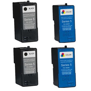 M4640 M4646 Compatible Inkjet Cartridge FOR 922Dell 924Dell 942Dell 944Dell 946Dell 962Dell 964Dell 922Dell (Pack of 4)