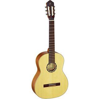 Ortega Guitars R121SN Family Series Slim Neck Nylon 6-string Guitar with Spruce Top, Mahogany Body, and Satin Finish