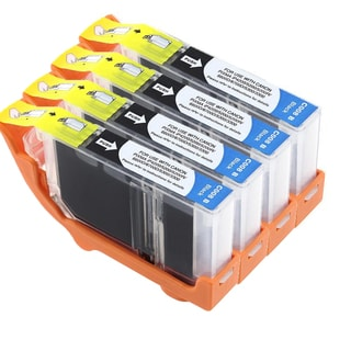 Canon CAN-CLI-8BK Compatible Inkjet Cartridge PIXMA IP4200 / 5200 / 6600D / 6700D / MP500 / MP800 (Pack of 4)
