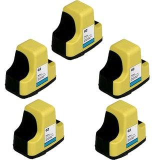 HP 02 YE (8773)Compatible Inkjet Cartridge For 3110 3210 3210v 3210xi 3310 3310xi (Pack of 5)