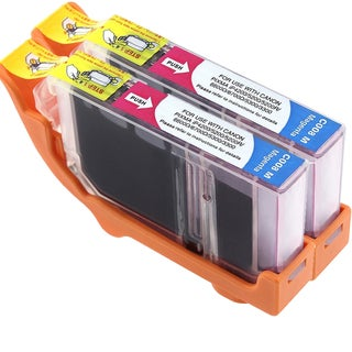 Canon CAN-CLI-8M Compatible Inkjet Cartridge PIXMA IP4200 5200 6600D 6700D MP500 MP800 (Pack of 2)