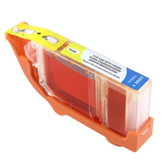 Canon CAN-CLI-8Y Compatible Inkjet Cartridge PIXMA IP4200 5200 6600D 6700D MP500 MP800 (Pack of 1)