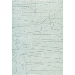 Couristan Moonwalk Dorado/ Ice Blue-lt Sage Rug (8' x 10')