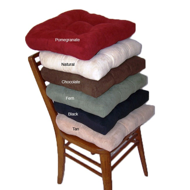 Faux Suede Chamois Hugger Non slip Seat Cushion Set of 4  : Faux Suede Chamois Hugger Non slip Seat Cushion Set of 4 734a68e4 3dd8 4ac3 bb47 ca08fe9f6aa4 from www.overstock.com size 650 x 650 jpeg 40kB