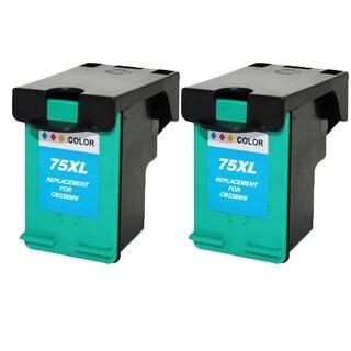 HP75XL - Color Compatible Inkjet Cartridge For Deskjet D4200 Officejet J5700 Photosmart C4200 (Pack of 2)