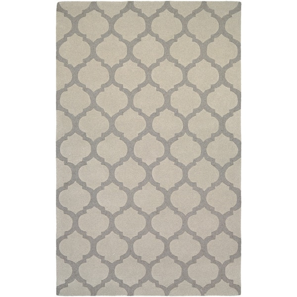 Couristan Super Indo-natural Gypsum/ Grey Rug (8' x 11')