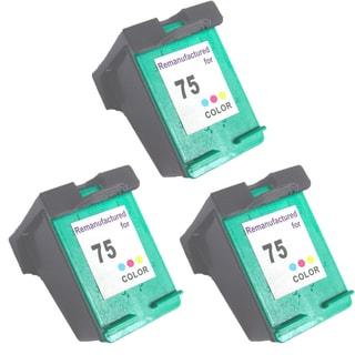 HP75 - Color Compatible Inkjet Cartridge For Deskjet D4200 Officejet J5700 Photosmart C4200 (Pack of 3)