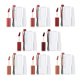 L'Oreal Infallible Never Fail 8-piece Lipcolour Collection