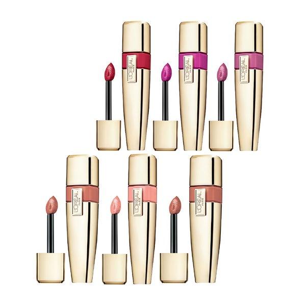 L'Oreal Paris Colour Riche Caresse 6-piece Lip Stain Set