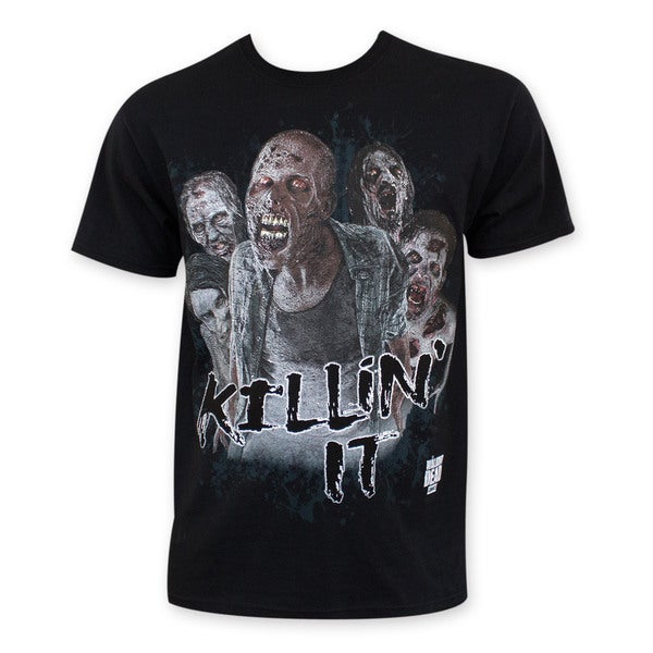 Walking Dead Zombie Killin It Tee Shirt