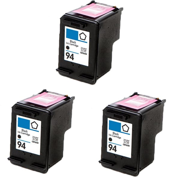 C8765WN (HP 94) Compatible Ink Cartridge For 5740 6540 6840 6210 7310 7410 (Pack of 3)