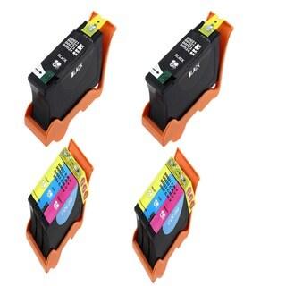 Dell 2 T105N Black 2 T106N Color (Series 23) Compatible Inkjet Cartridge For Dell V515W (Pack of 4)