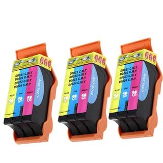 Dell T092N Color (Series 22) Compatible Inkjet Cartridge For V313 V313W P513W (Pack of 3)