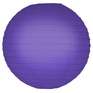 Purple 10-inch Paper Lanterns (5 Count)