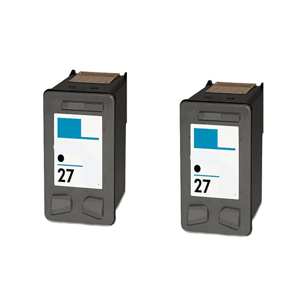 HP C8727A (HP 27) Black Compatible Inkjet Cartridge For 3320 3322 3420 (Pack of 2)