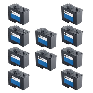 Dell T0529 Black 10N0016 and Color Compatible Inkjet Cartridge For Dell Photo 720 A920 (Pack of 10)