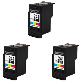 CL-241XL Compatible Inkjet Cartridge For MG3222 MG4120 MG4220 MG3520 MX372 MX392 MX432 MX439 MX452 MX459 MX472 (Pack of 3)