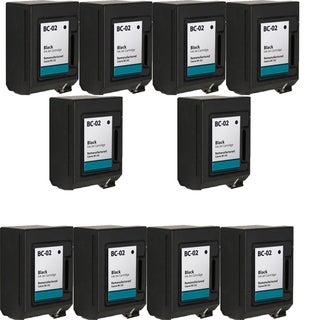 BC02 Black Compatible Inkjet Cartridge For BJ - 100 200 200EX (Pack of 10)