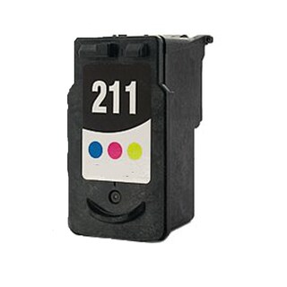 PG211 (2974B002) Compatible Inkjet Cartridge For MP250Canon Pixma MP270Canon Pixma MP495Canon Pixma MX340Pix (Pack of 1)
