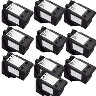 PG-240XL Compatible Inkjet Cartridge For MG3222 MG4120 MG4220 MG3520 MX372 MX392 MX432 MX439 MX452 MX459 MX472 (Pack of 10)