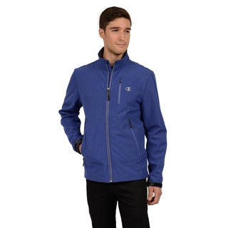 Champion Men's Mock Neck Set in Sleeve Soft Shell (Tall Sizes)