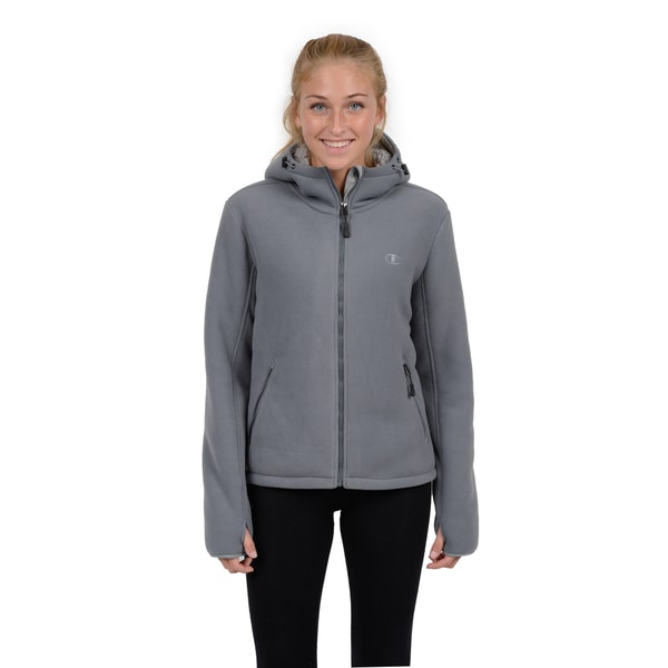 Champion Women's Perfect Hooded Mountain Go-to-Jacket Faux Sherpa Interior 15989414