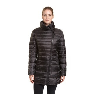 Champion Women's Featherweight Insulated 3/4 Asymmetrical Coat