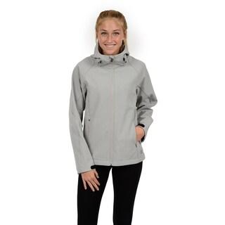 Champion Women's Hooded mock neck soft shell