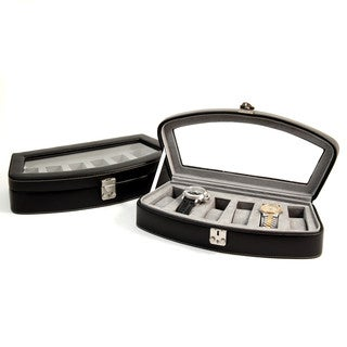 Bey Berk Leather 6-watch Case