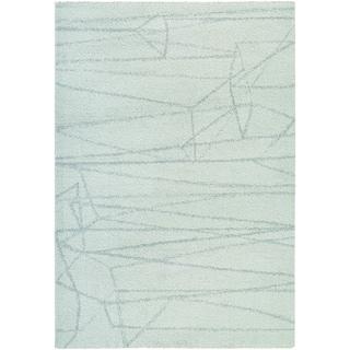 Couristan Moonwalk Dorado/ Ice Blue-Light Sage Rug (9'2 x 12'5)