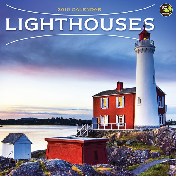 2016 Lighthouses Wall Calendar