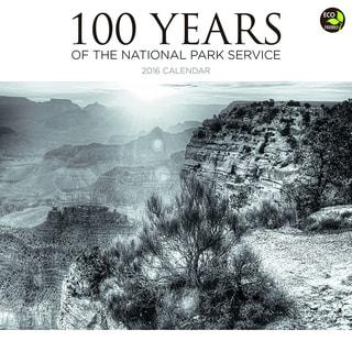 2016 National Parks 100 Years Wall Calendar