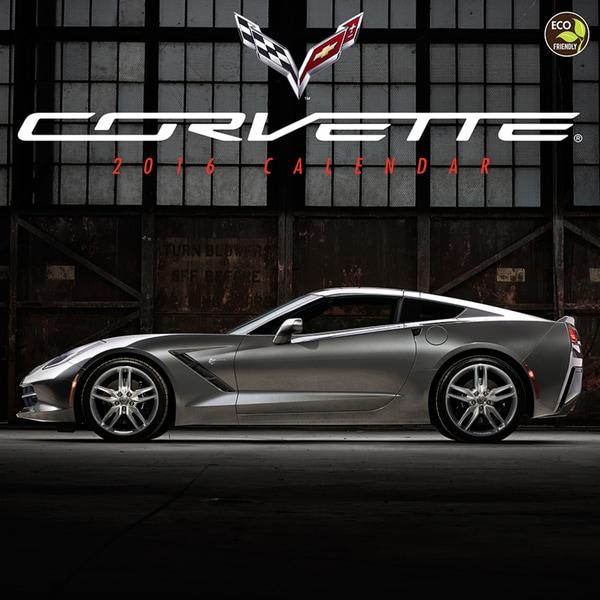 2016 Corvette Wall Calendar