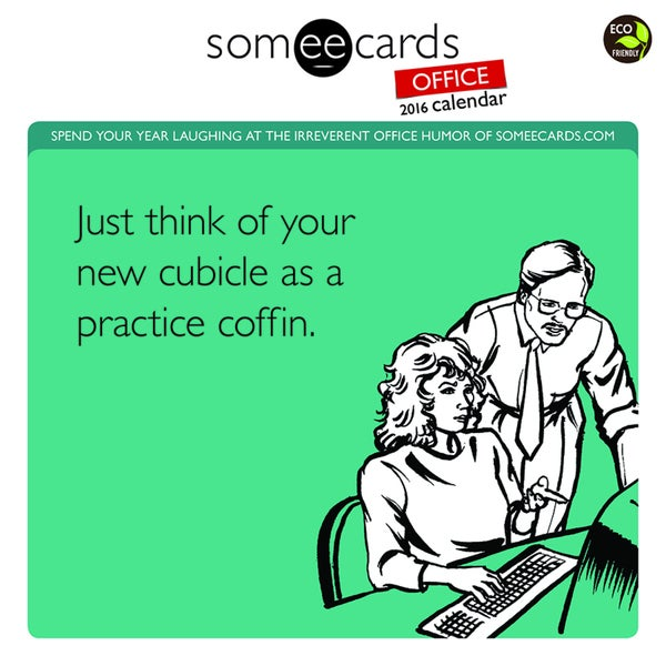 2016 Someecards Office Wall Calendar